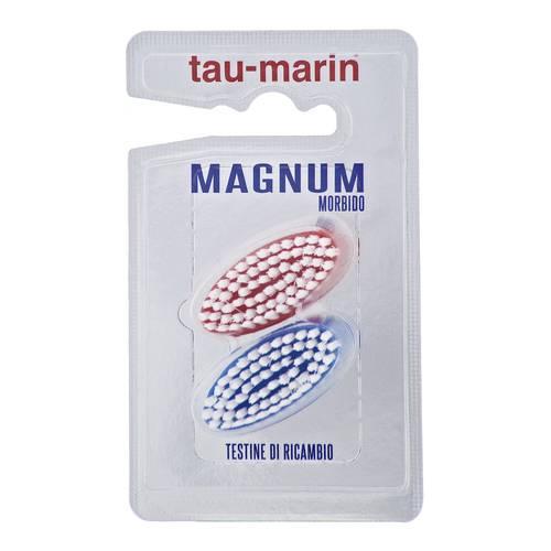 Tau-Marin Testine di ricambio morbida per spazzolini magnum - Farmawing