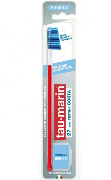 TAUMARIN SPAZZOLINO PROFESSIONAL 27 MORBIDO CON ANTIBATTERICO - Farmacia33