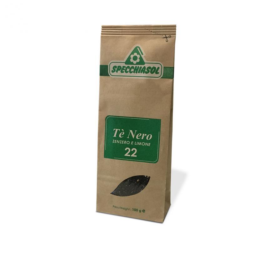 Specchiasol Tè Nero Tisana Zenzero e Limone 100 g - La tua farmacia online