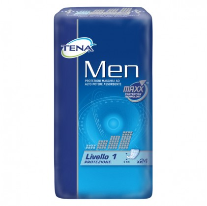 Tena Men Livello 1 24 Pezzi - Sempredisponibile.it