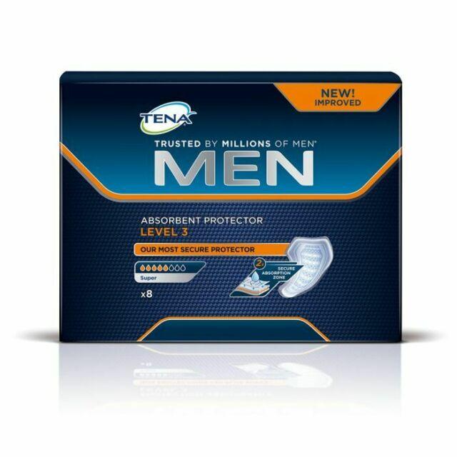 TENA MEN LIVELLO 3 8 PEZZI - Zfarmacia