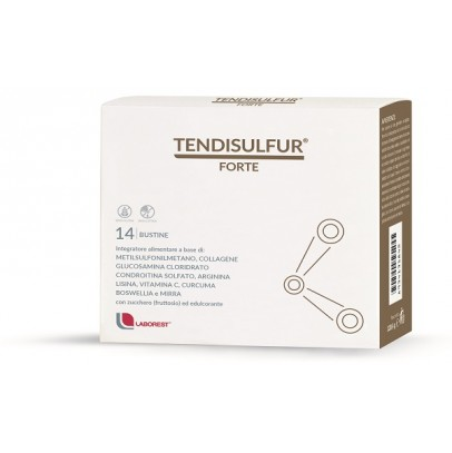 TENDISULFUR FORTE 14 BUSTE 119 G - Farmacia Castel del Monte