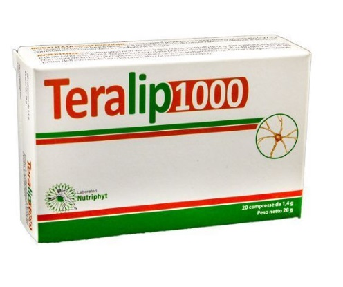 TERALIP 1000 INTEGRATORE ANTIOSSIDANTE 20 COMPRESSE - Farmafamily.it