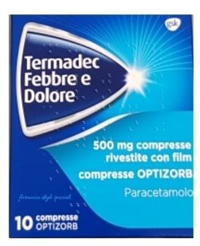 TERMADEC FEBBRE E DOL*10CPR500 - farmaciadeglispeziali.it