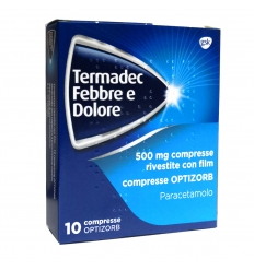 TERMADEC FEBBRE E DOL*10CPR500 - Farmapage.it