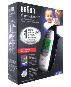 TERMOMETRO AURICOLARE BRAUN THERMOSCAN 7 - Farmastar.it