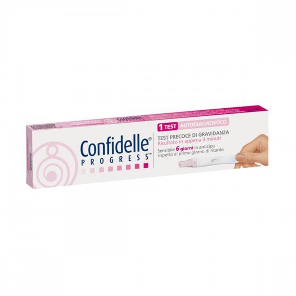 CONFIDELLE PROGRESS TEST DI GRAVIDANZA 1 TEST - Farmapage.it