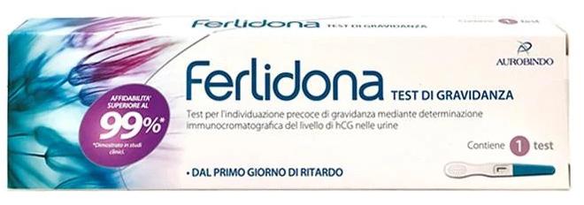 TEST DI GRAVIDANZA FERLIDONA 1 PEZZO - Farmacia Centrale Dr. Monteleone Adriano