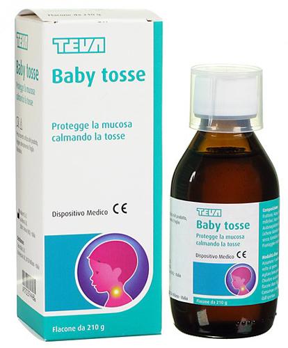 BABY TOSSE TEVA SCIROPPO 210 G - Farmacia Centrale Dr. Monteleone Adriano