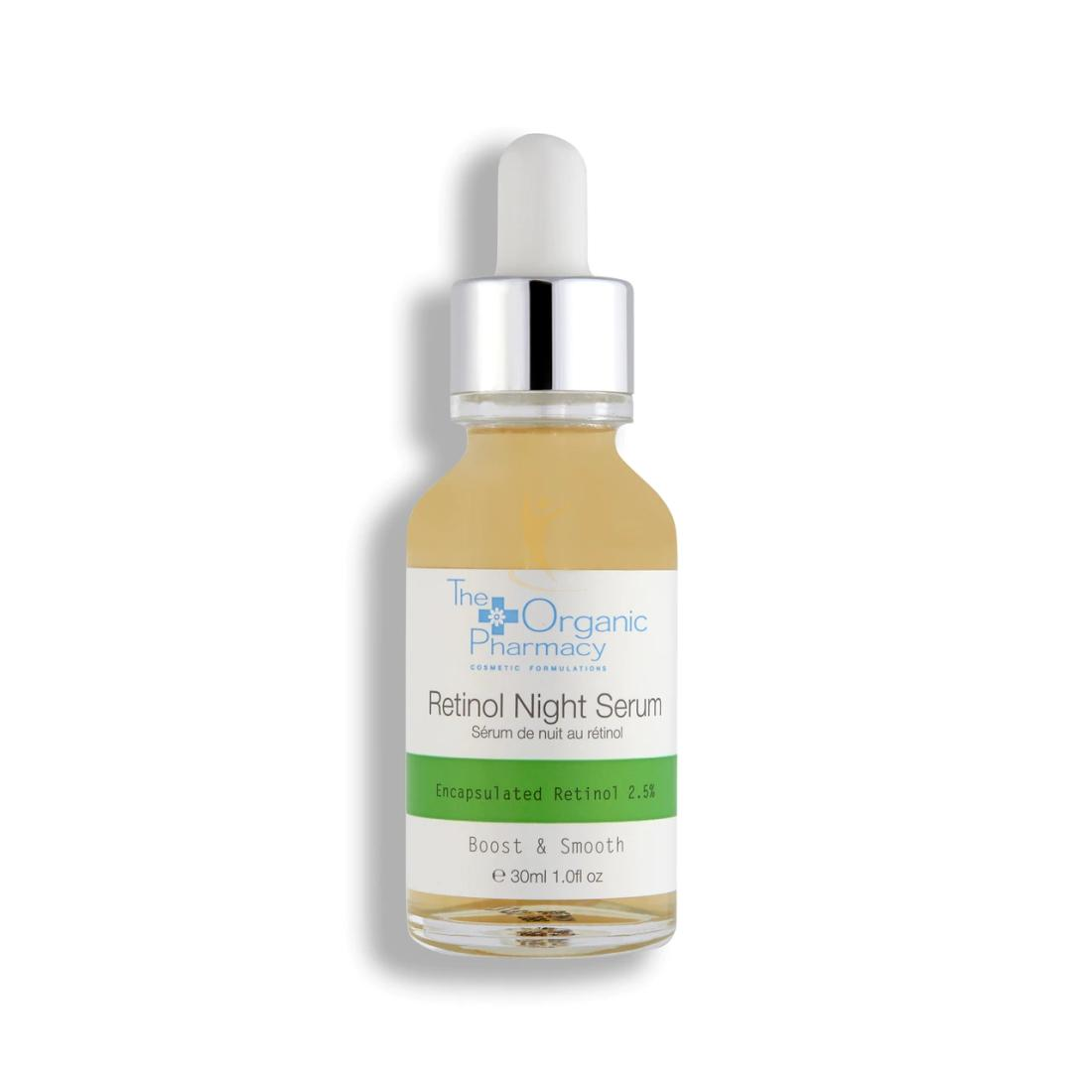THE ORGANIC PHARMACY RETINOL NIGHT SERUM 30 ML - Farmacia Barni