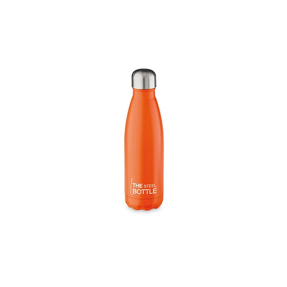The steel boottle arancione 500 ml - latuafarmaciaonline.it