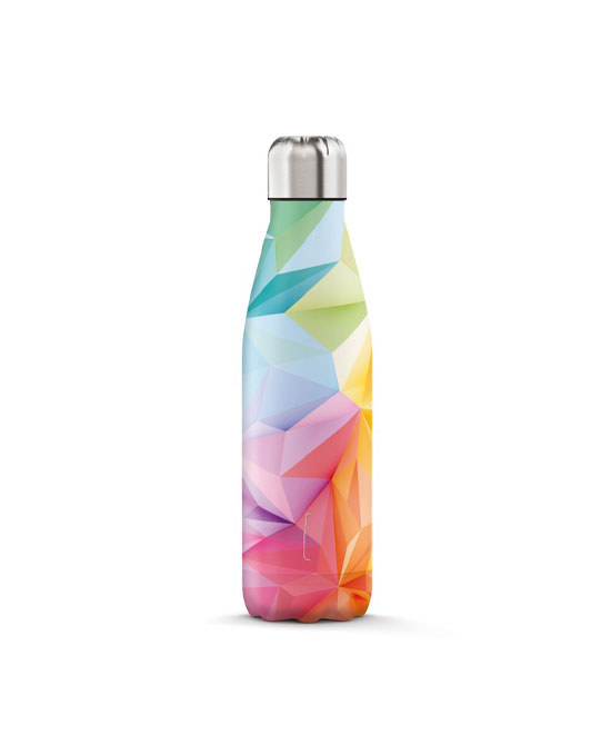THE STEEL BOTTLE ART 500 ML 3 geometric - latuafarmaciaonline.it