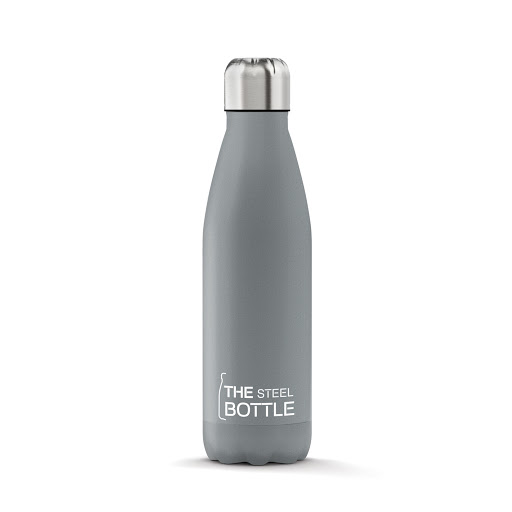 The steel bottle grigia 1 litro - latuafarmaciaonline.it