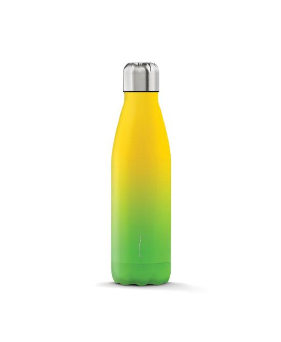The steel bottle shade series lime 500ml - latuafarmaciaonline.it