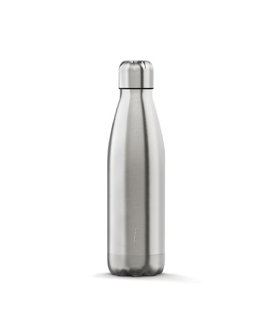 The steel bottle silver 500 ml - latuafarmaciaonline.it