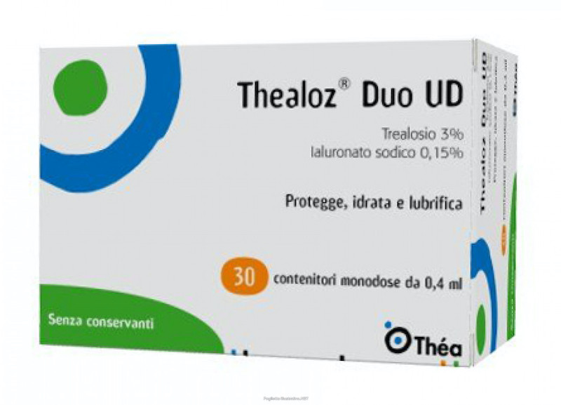 Thealoz Duo UD Gooce Oculari 30 Flaconcini Monodosi - Arcafarma.it