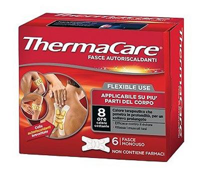Thermacare Flexible Use 6 Fasce monouso Autoriscaldanti - La tua farmacia online