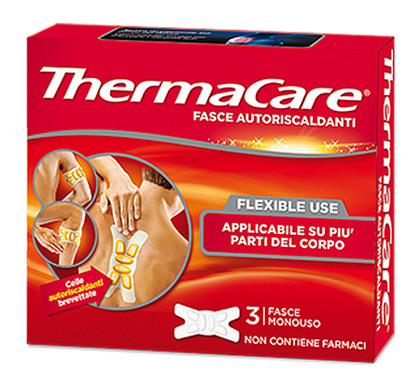 Thermacare Flexible Use 3 Fasce monouso Autoriscaldanti - latuafarmaciaonline.it