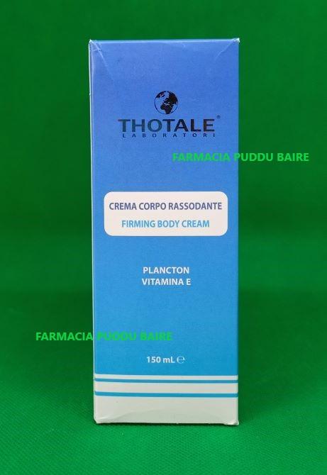 THOTALE CREMA CORPO RASSODANTE 150 ML - Farmacia Puddu Baire S.r.l.