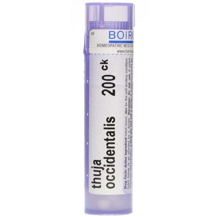 THUYA OCCIDENTALIS 200 CH GLOBULI - Zfarmacia