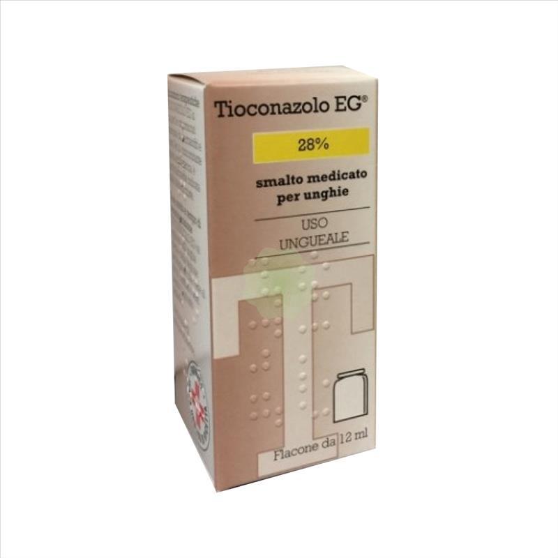 TIOCONAZOLO EG*SMALTO MED 12ML - Farmafamily.it