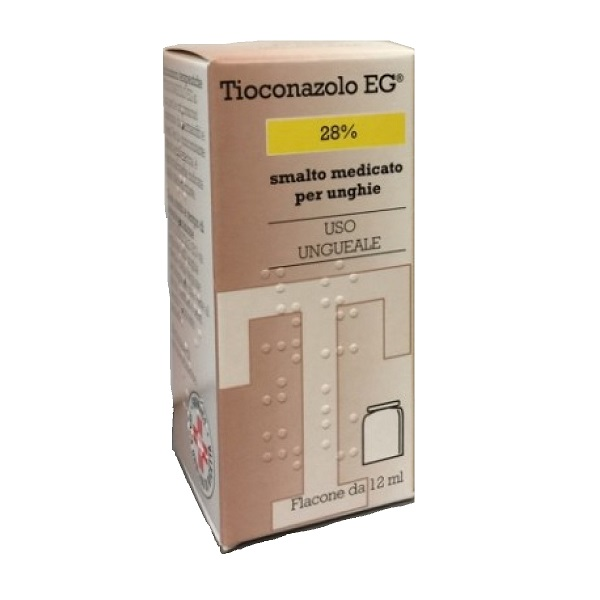 TIOCONAZOLO EG*SMALTO MED 12ML - Farmacia Castel del Monte