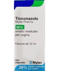 TIOCONAZOLO MY*SMALTO Antifungineo (equivalente del Trosyd smalto) 12ML - Farmajoy