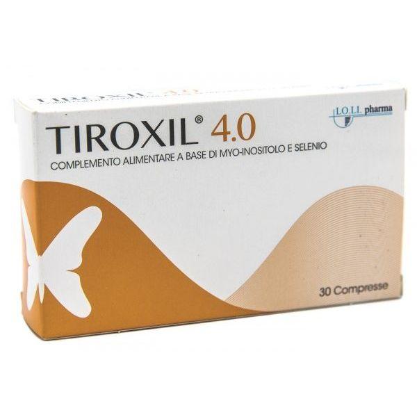 TIROXIL 4,0 30 COMPRESSE - Farmafamily.it