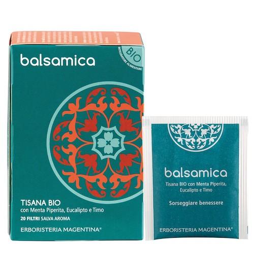 Tisana Bio Balsamica con Menta Piperita Eucalipto e Timo 20 Filtri - Arcafarma.it