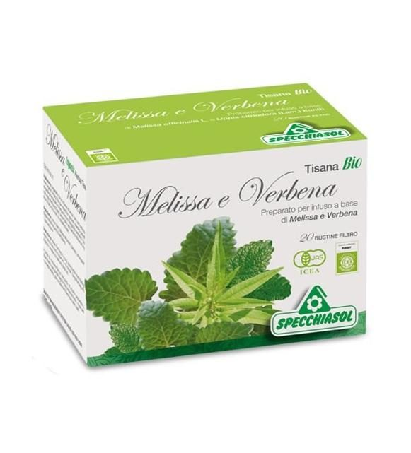 TISANA MELISSA E VERBENA 20 BUSTINE - Farmacia 33