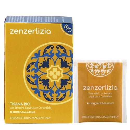 Tisana Bio Zenzerlizia con Zenzero Liquirizia e Coriandolo 20 Filtri - Arcafarma.it