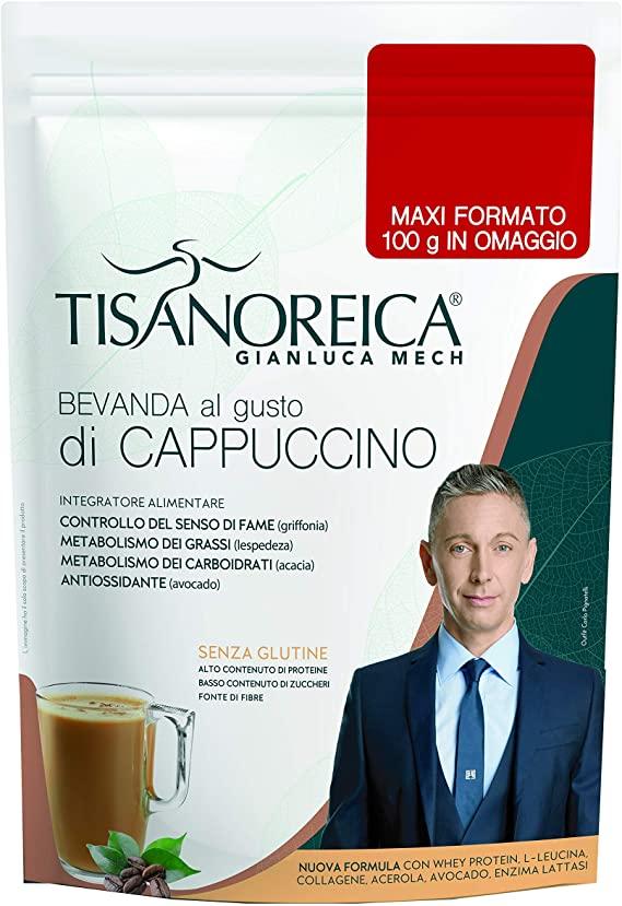 TISANOREICA BEVANDA CAPPUCCINO 2020 POT 500 G - Farmalke.it