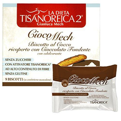 Tisanoreica CiocoMech Cocco 9 Biscotti 13g - Farmastar.it