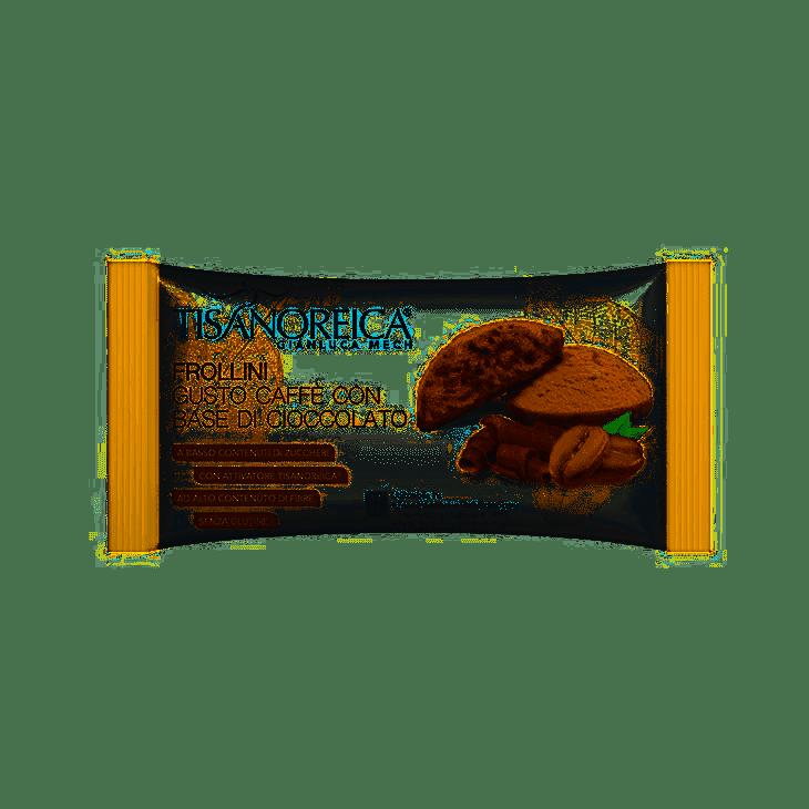 Tisanoreica Frollini gusto Caffè con base di Cioccolato 50g - Farmastar.it