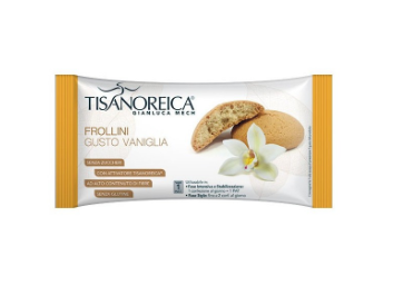 Tisanoreica Frollini gusto Vaniglia 50g - Farmastar.it