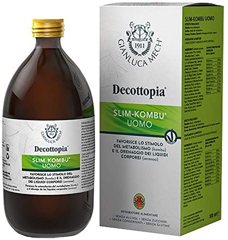 Tisanoreica Linea Decottopia Slim Kombu Uomo Integratore Alimentare 500 ml - Farmastar.it
