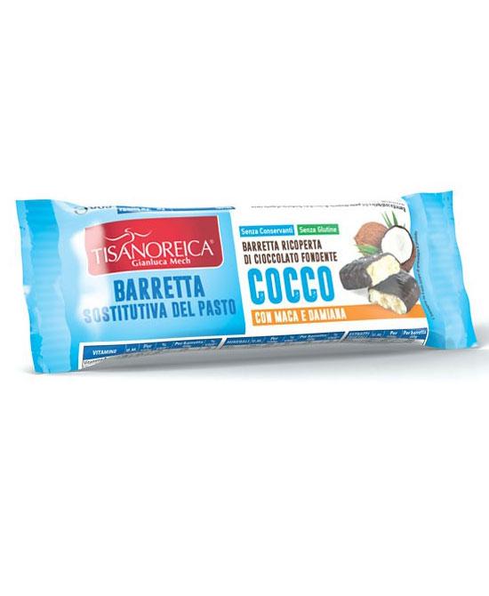 Tisanoreica style barretta sostitutiva pasto gusto cocco 60 grammi - latuafarmaciaonline.it