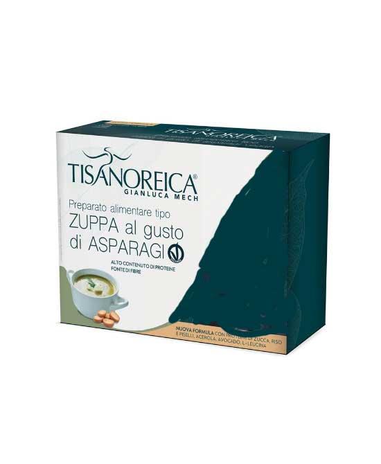 Tisanoreica zuppa asparagi vegan 4 pat da 34 grammi