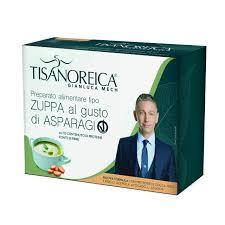 TISANOREICA ZUPPA ASPARAGI VEGAN 34 G X 4 2020 -  Farmacia Santa Chiara