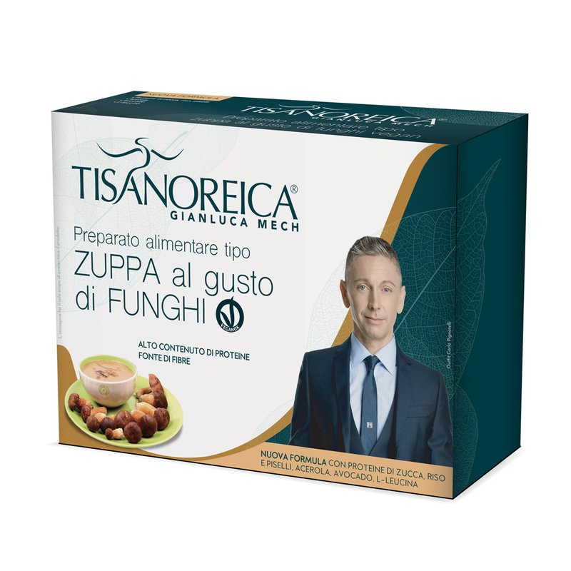 TISANOREICA ZUPPA FUNGHI VEGAN 34 G X 4 2020 - Farmalke.it