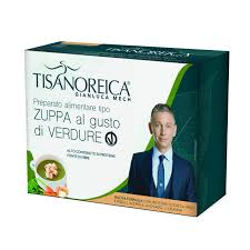 TISANOREICA ZUPPA VERDURE VEGAN 34 G X 4 2020 -  Farmacia Santa Chiara