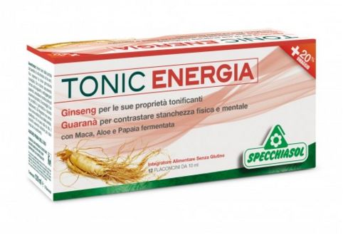 TONIC ENERGIA 12 FLACONCINI X 10 ML - Farmacia 33