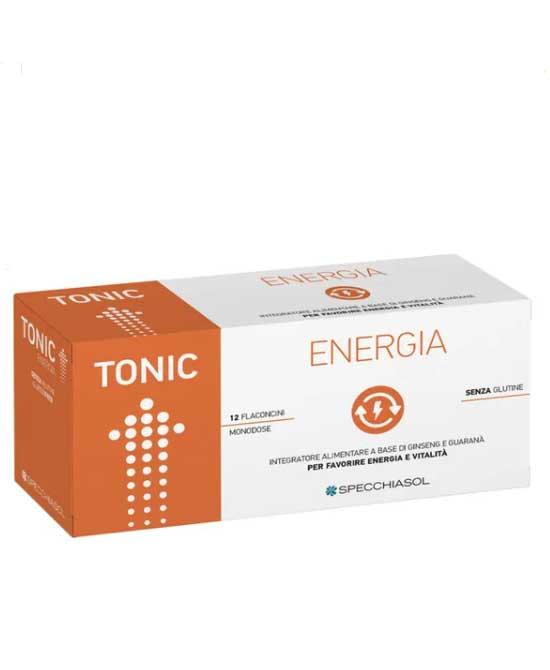 Specchiasol Tonic Energia Integratore Alimentare 12 Flaconi - latuafarmaciaonline.it
