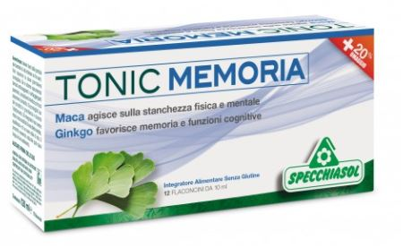 TONIC MEMORIA 12 FLACONCINI X 10 ML - Farmacia33