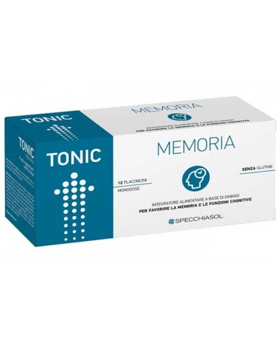 TONIC MEMORIA 12 FLACONCINI X 10 ML - latuafarmaciaonline.it