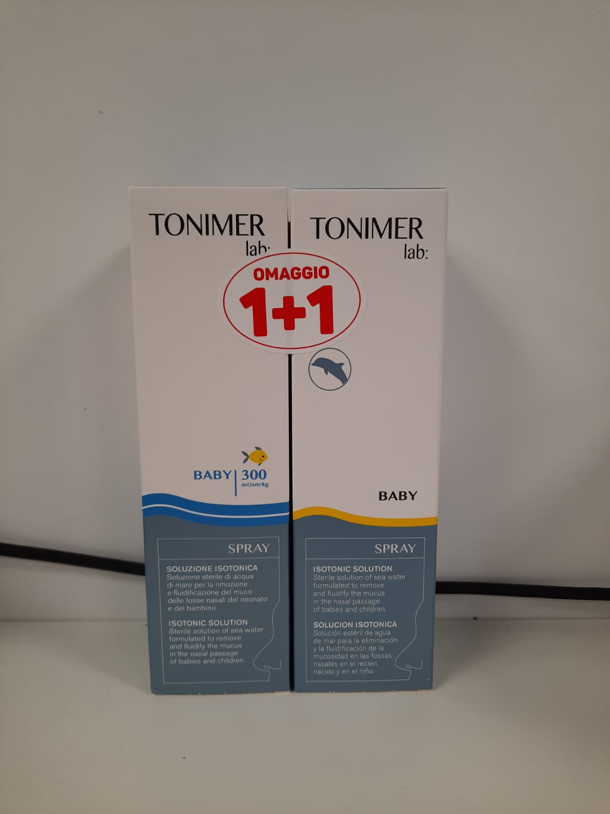 Tonimer Lab Baby Spray Soluzione Isotonica 100ml + 100ml 1+1 Omaggio - Arcafarma.it