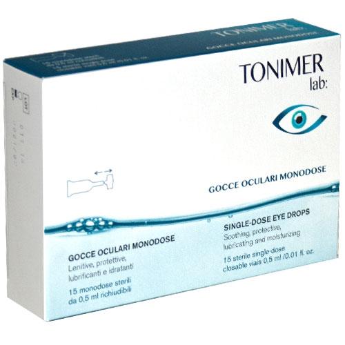 Tonimer Lab Gocce Oculari Monodose 15 Flaconcini - Arcafarma.it