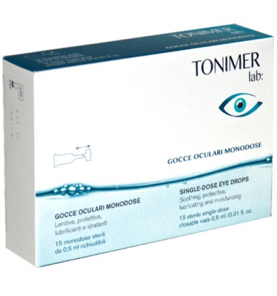 TONIMER LAB GOCCE OCULARI MONODOSE 15 X 0,5 ML - Farmapage.it