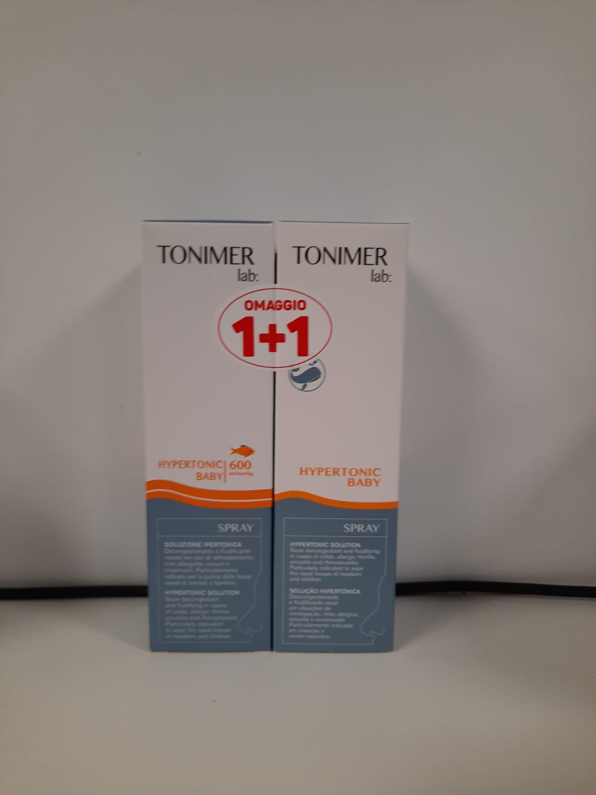 Tonimer Lab Hypertonic Baby Spray 100ml + 100ml 1+1 Omaggio - Arcafarma.it