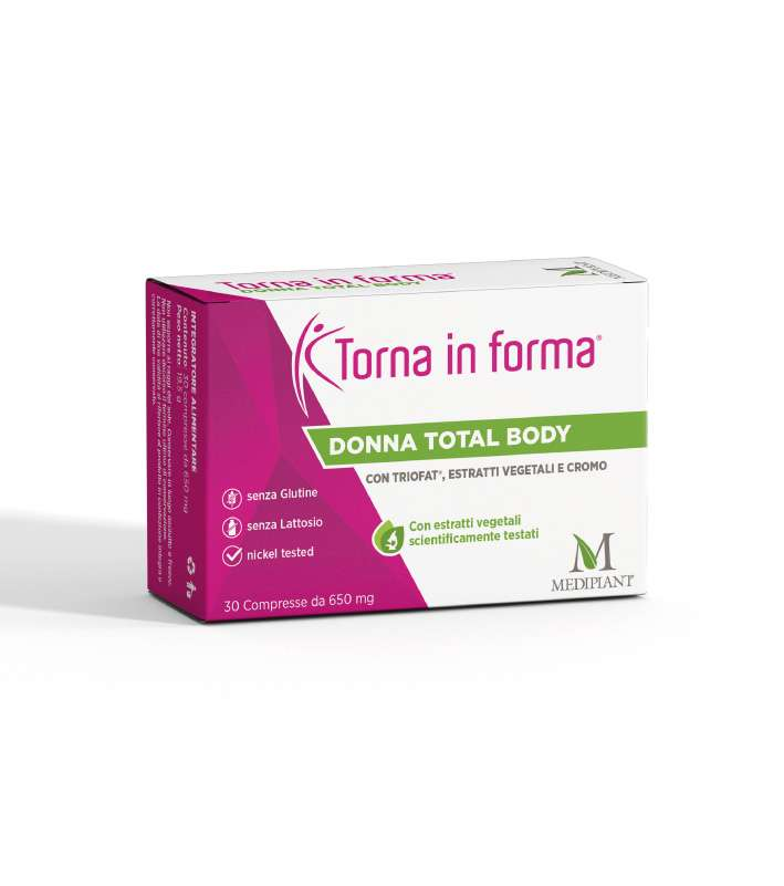 Torna in Forma Donna Total Body 30 Compresse - Arcafarma.it
